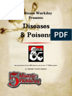 Diseases & Poisons