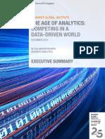 The Age of Analytics Executive Summary