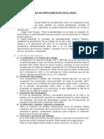 Empleabilidad en El Peru 2016