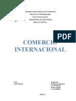 Comercio Internacional (Kennymar)