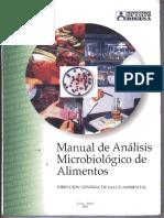 Manual de Analisis Microbiologico de Alimentos Digesa Peru