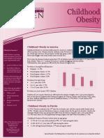 childhood obesity jb 2016