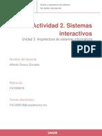 Actividad 2. Sistemas Interactivos