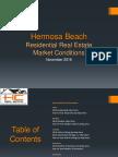 Hermosa Beach Real Estate Market Conditions - November 2016