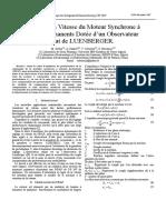 Commande en Vitesse du Moteur Synchrone à.pdf
