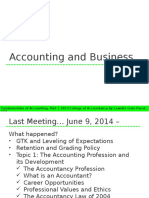 Topic 2 Accounting and Business