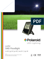 Polaroid-Leaflet - SMD Floodlight Eng