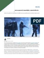 Servidores Declaram Guerra Ao Pacote de Austeridade e Centro Do Rio Vive Caos _ Brasil _ EL PAÍS Brasil