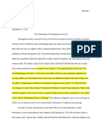revised copy of progression one essay - google docs