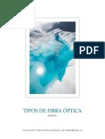 Ensayo - Tipos de Fibra Óptica