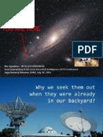 Presentasi SETI Conference - Nur Agustinus (BETA-UFO)
