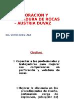 Perforacion y Voladura de Rocas – Austria Duvaz