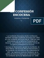 La Confesión Escocesa