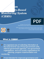 CBMS Overview for MLGOOs