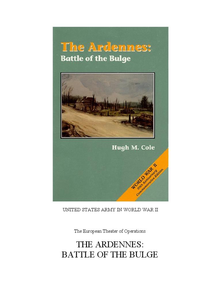 The Ardennes  Battle of the Bulge   Regiment   Battle Of The Bulge 792a47cc5a2