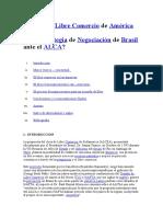 El Área de Libre Comercio de América Del Sur