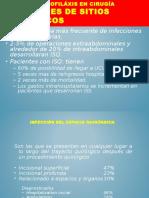 Antibioticos Profilaxis en Ciruga Expo