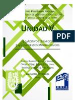 Aditivos Quimicos - Compuestos Mineralogicos