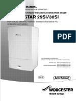 Greenstar 25-30 Si Mk2 Installation and Servicing Instructions