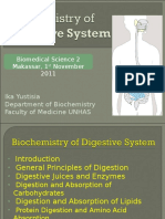 Biochemistry of Digestive System