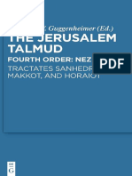 Heinrich W. Guggenheimer-The Jerusalem Talmud- Fourth Order_ Neziqin-Sanhedrin and Makkot Tract