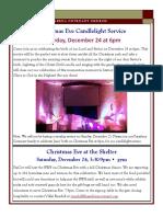 Newsletter - December 2016