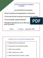 ARMONICAS -Correccion de Fp en Presencia de Armonicos