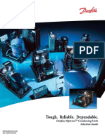 MANEUROD. REFRIGERATION AND AIR CONDITIONING. Danfoss OptymaTM Condensing Units Selection Guide