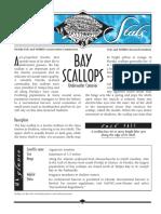 Sea Stats - Bay Scallops