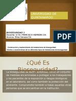 Construcción y Mantenimiento de Instalaciones de Bioseguridad