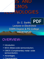 Mos and Cmos Technology