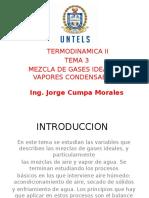 Mezcla de Gases Ideales y Vapores Tema 3