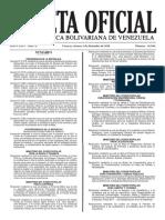 Gaceta Oficial de la República Bolivariana de Venezuela Nro. 41.044 (02-12-2016)