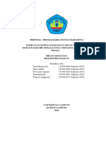 Proposal Proposal PKM_K Pembuatan KUPING MUMI