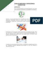 Investigación de Mercados e Inteligencia Competitiva
