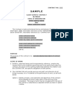 Service Agreement Template 1