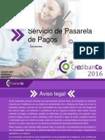 Presentacion Cial Pasarela Cco Comercios en General 2016