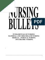 Nursing Bullets. Funda,MedSurg,Psych2 oh yes