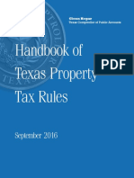 Handbook of texas property tax rules