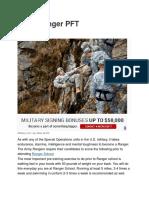 Army Ranger PFT