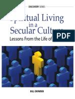 Daniel-Spiritual Living in a Secular Culture