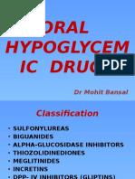 Oral Hypoglycemic Drugs