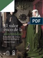 CRESPO El Valor Ético de La Afectividad. Estudios de Ética Fenomenológica