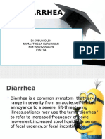 Ppt Diarrhea