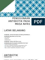 Antibiotik Ibu Nifas