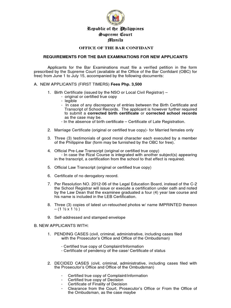 Original birth certificate 5 free printable rental agreement form free requirements for the bar exam for new applicantspdf birth 1514067432v1 requirements for the bar exam for new applicants pdf original birth certificate 5 xflitez Choice Image