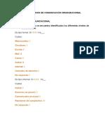 Cuestionario de Comunicación Organizacional (1)