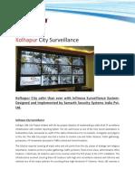 Kolhapur city surveillance - Infinova