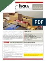 Incra Ibox Manual