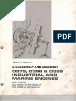 Desmontaje y Montaje D 379398 y 399